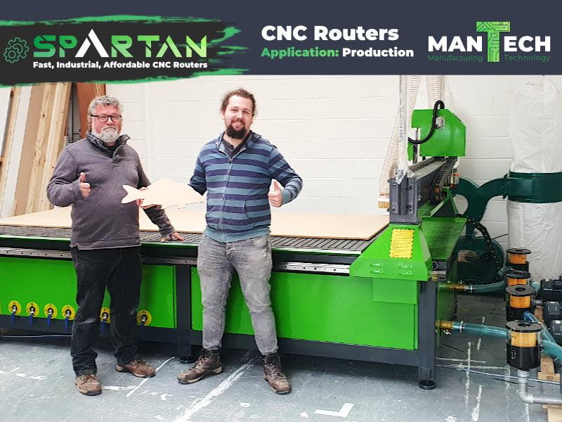 Spartan 10x5 ft CNC Router UK