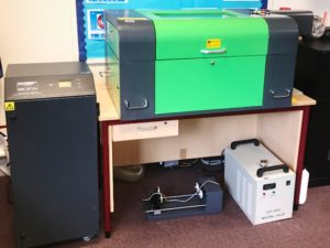 Desktop Laser Cutter Installation - Glasgow School Chooses Mantech