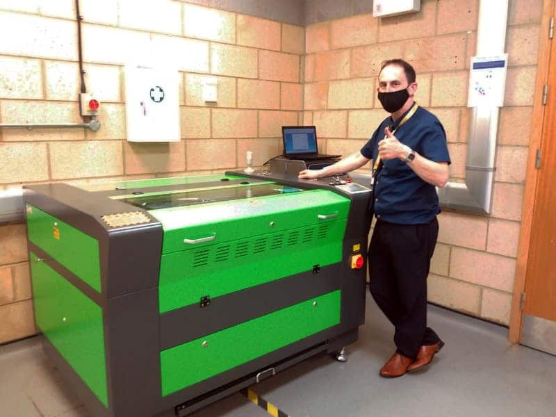 Essex Schools Choose Mantech Machinery For CO2 Laser