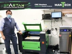 Lasertech 6040 Laser Machine UK