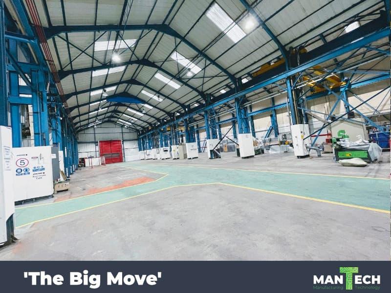 Mantech Machinery Expansion