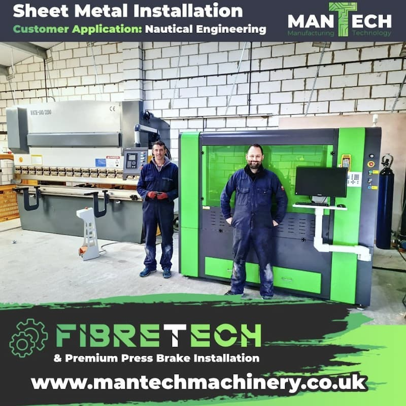 Fibre Lasers and Press Brakes