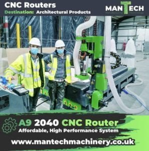 Mantech High Performance CNC Routers