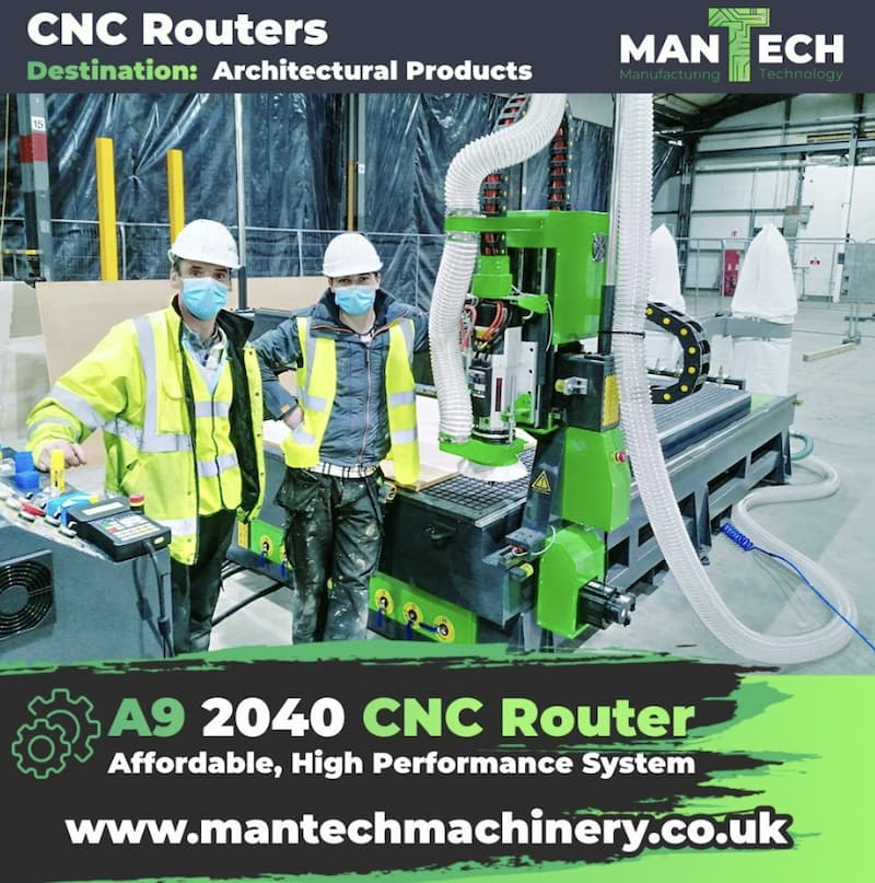 Mantech High Performance CNC Routers