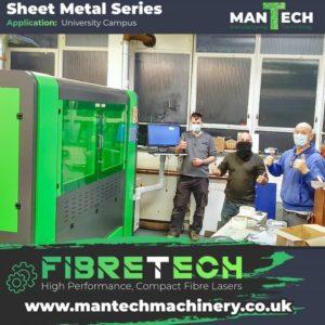 Metal laser cutting machine - Fibre Laser