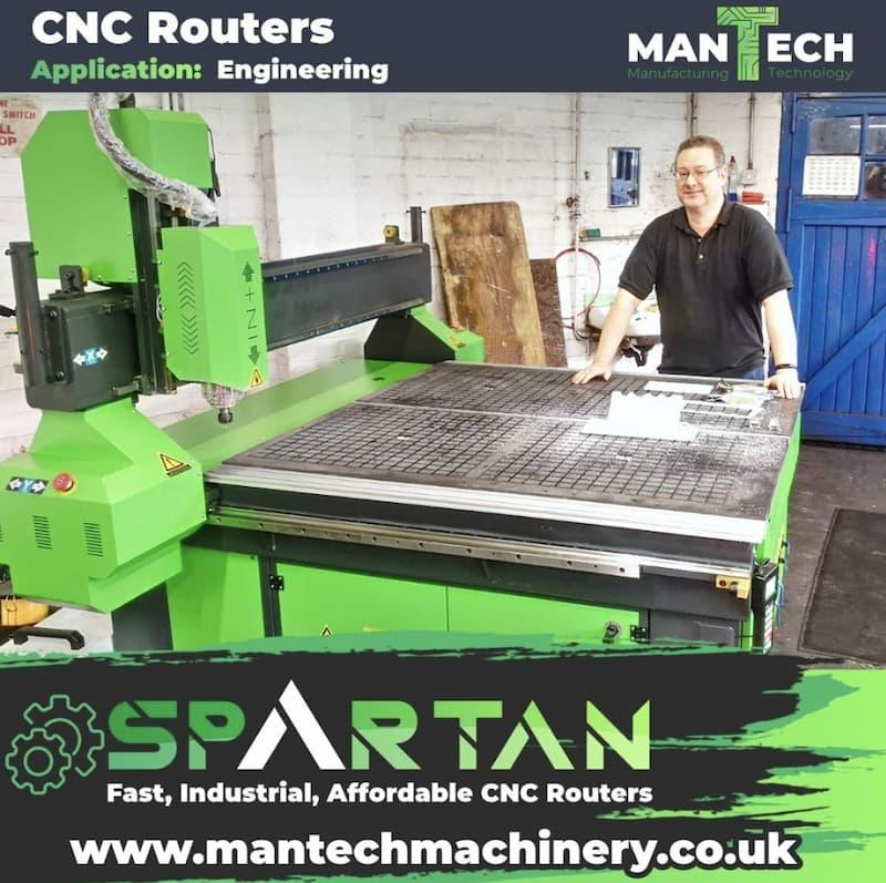 CNC Router - UK Machine Specialists