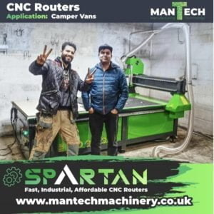 Versatile CNC Routers UK