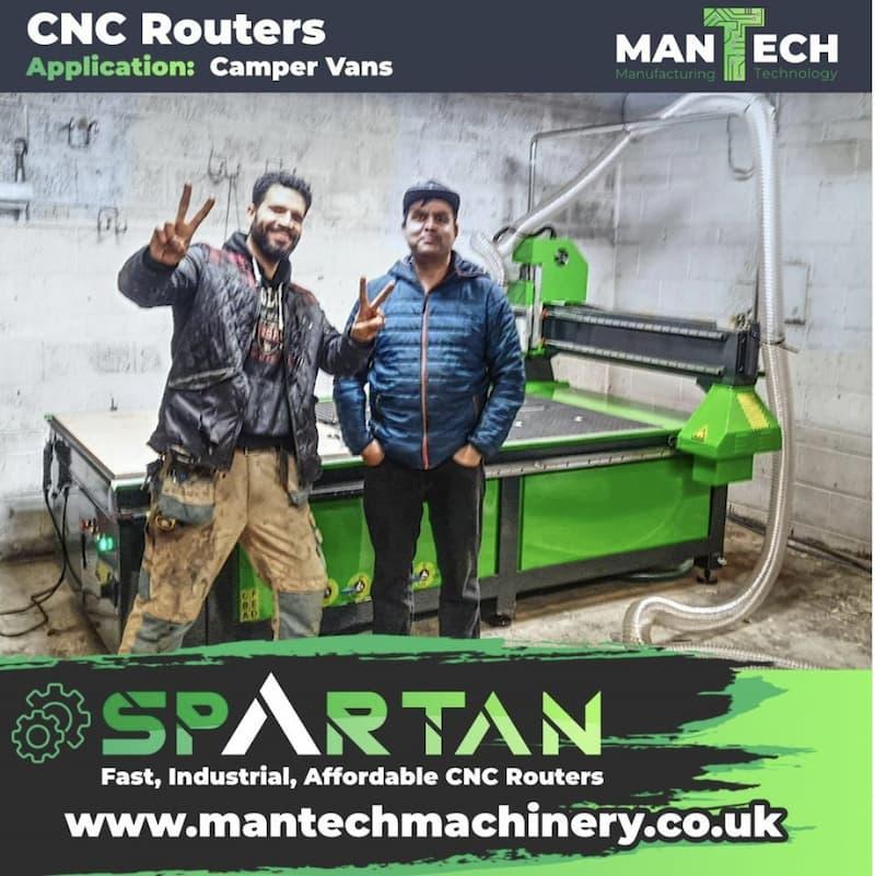 Versatile CNC Routers UK