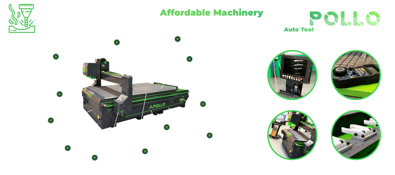 Affordable and Industrial CNC routers