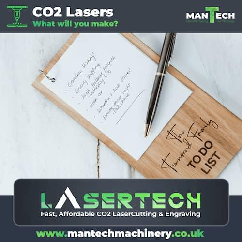 Laser Cutter UK - Bespoke Todo List