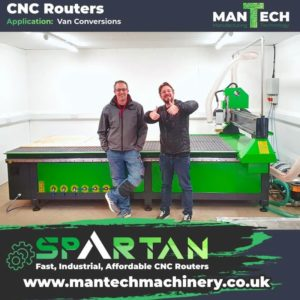 CNC Routers - Mantech UK