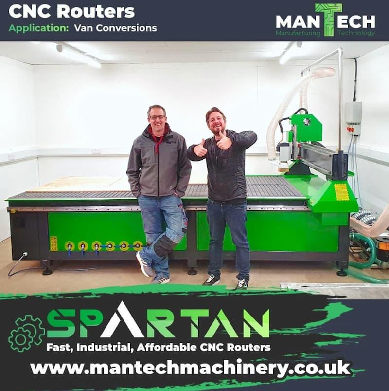 CNC Routers - Mantech UK