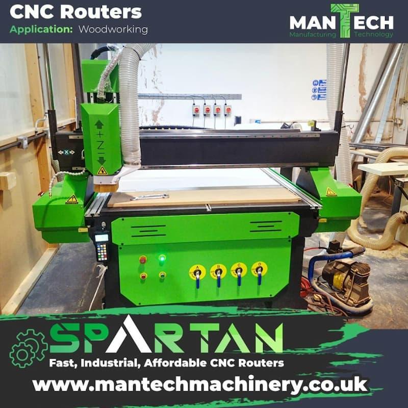 CNC Router Installation West Midlands UK
