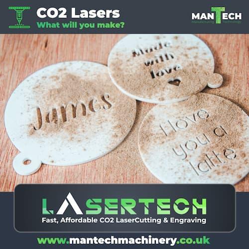 Unique laser cut products