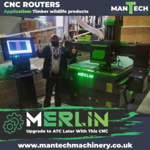 Merlin CNC Router Installation In Gloucester
