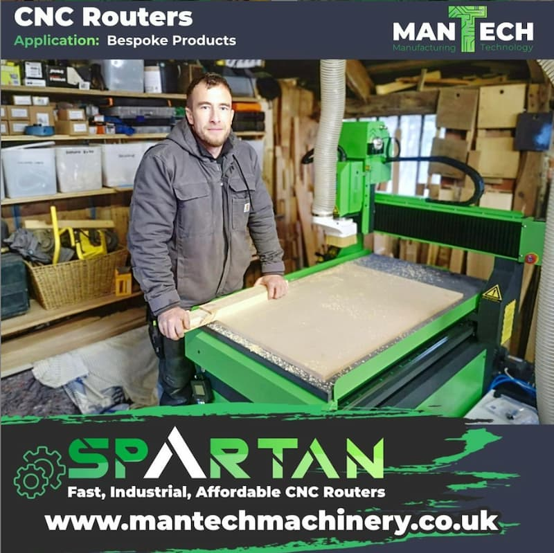 CNC router Specialists UK