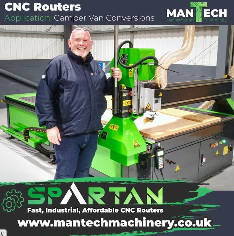 Our Very Popular Spartan CNC Router