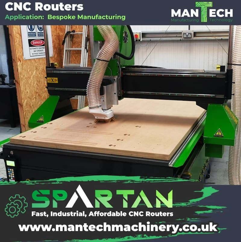 Cabinet Maker - Spartan CNC Router
