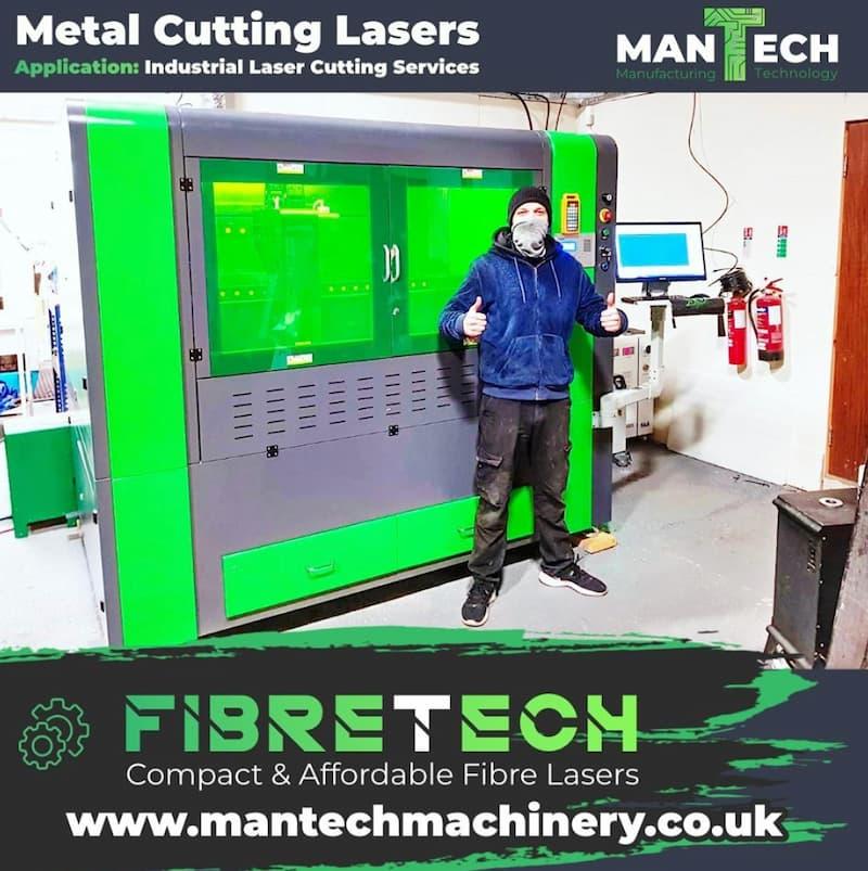 Paisley based customer chooses Titan T1 Fibre Laser