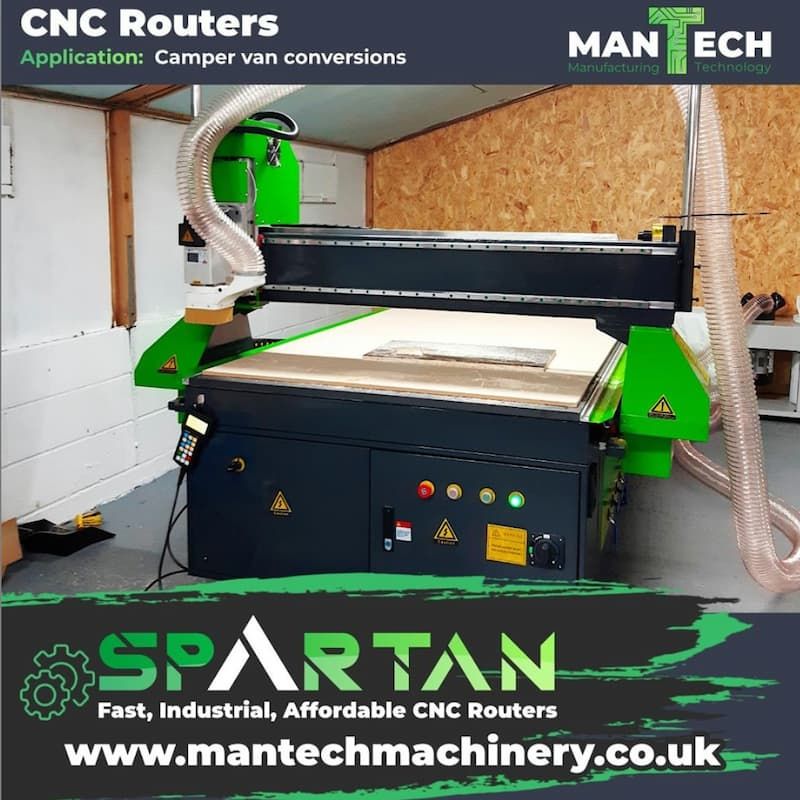 Derby based campervan conversion company chooses Spartan CNC Router