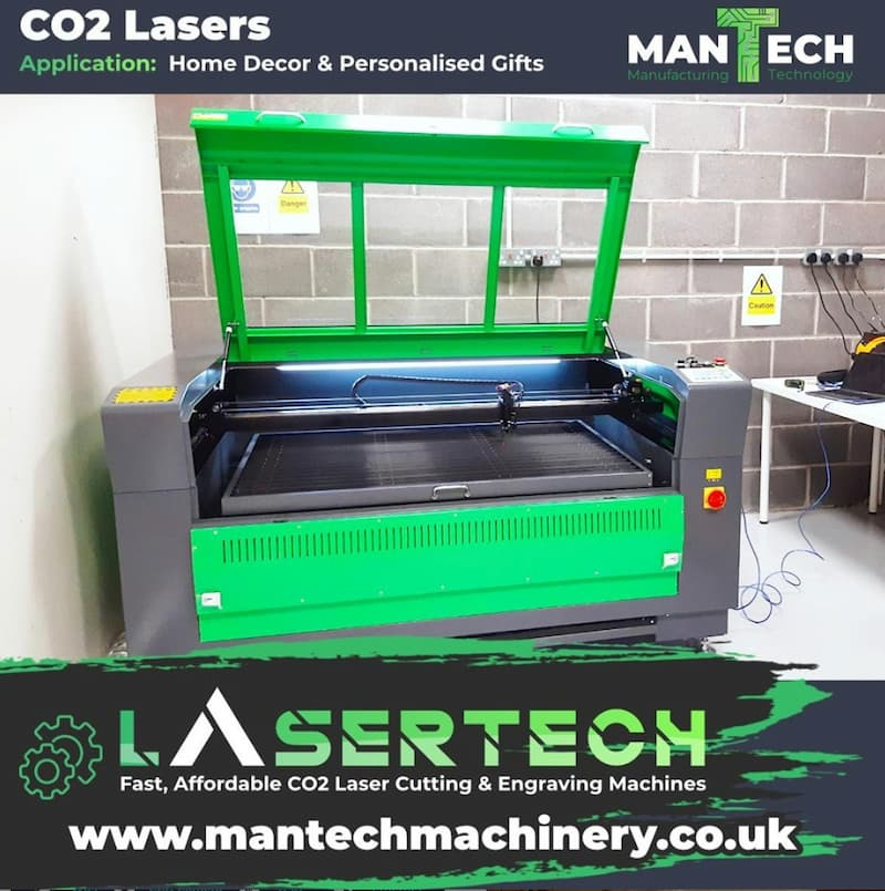 Oxford based home decor firm buys Lasertech CO2 Laser Cutter