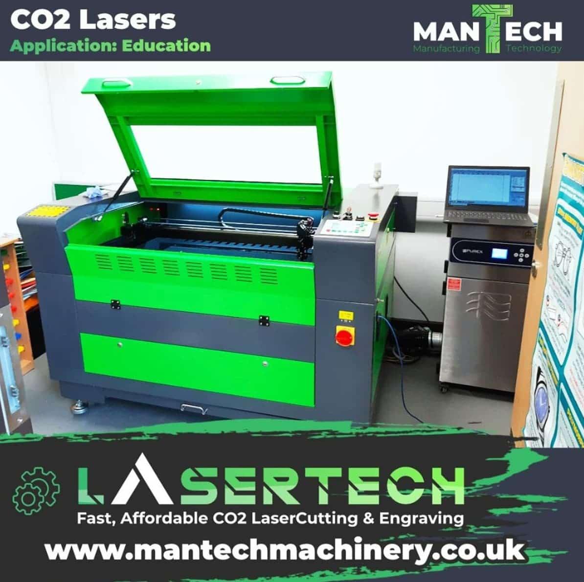 School in Colchester - Laser Cutter