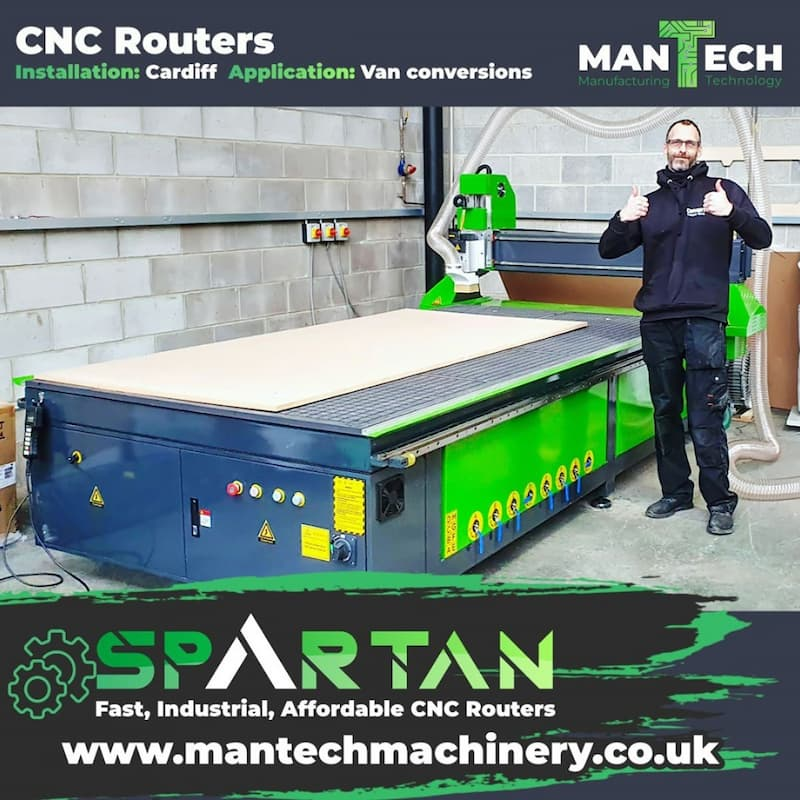CNC Router - Camper Van Conversions made easy