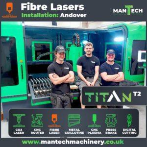 Titan T2 Fibre Laser Cutter