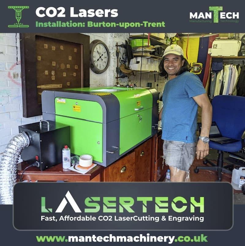 Desktop Laser Cutter UK