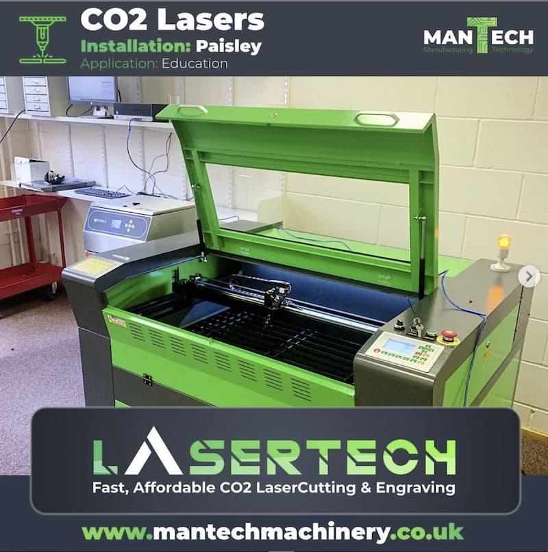 Laser Cutter - Schools UK