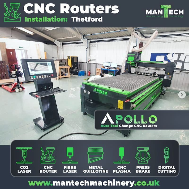 Affordable Auto Tool Change CNC Routers