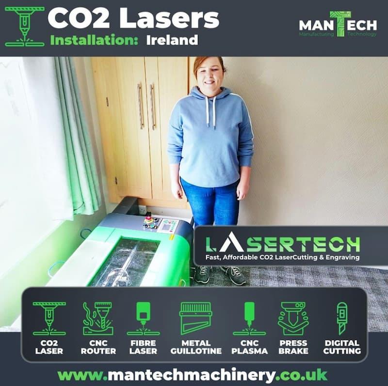 Laser Cutter & Engraving Machine